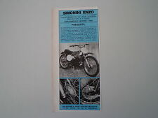 advertising Pubblicità 1972 MOTO SIMONINI 50