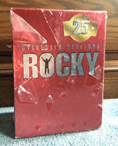 SEALED Rocky 1-5 VHS Commemorative 25th Anniversary Gift Set              12