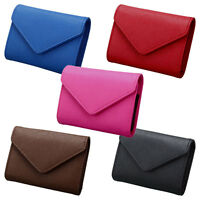 Women Genuine Leather Wallet RFID Credit ID Business Card Holder Coin Mini Purse