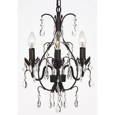 ***RETURNS AS IS*** crystal chandelier lighting pendant ceiling