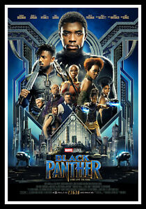 Black Panther Movie Poster Print & Unframed Canvas Prints