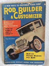 Rods Builder & Customizer - Dec 1957 - 25 Chev, Chev V-8, 49-51 Fords, Victorias
