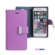 Magnetic Flip Cover Stand Wallet Leather Case For Apple iPhone 6 6S Plus 5S US