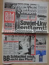 Immagine giornale di lunedì 23.7.1984, Samantha Fox, Brigitte Bardot, Liza Minelli