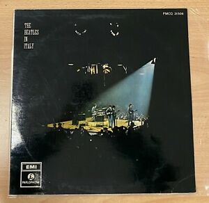 THE BEATLES - LP ITALY 1970 PLASTIFICATA FRONTE - MINT – THE BEATLES IN ITALY