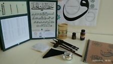 Arabic Calligraphy Set (Qalams,Ink,Lika,Inkwell,Papers,Sulus Jali Script Book