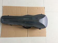 violin case for 4/4 size violin ,carbon fiber shaped dark grey violin case
