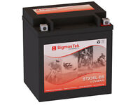 Yuasa YIX30L Battery - Replacement Battery By SigmasTek