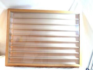 Kibri  Vitrine  ca. 81 x 60 x 6 cm. aus Holz / Kunststoff  #2