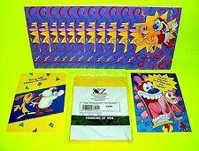 REN & STIMPY Greeting Cards 1993/94 13 Total w Envelopes Birthday Happy Joy Room