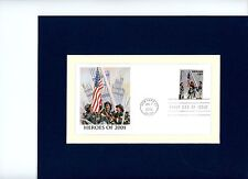 9/11 & the World Trade Center & First Day Cover for First Responders & the NYFD