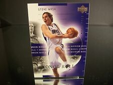 Rare Steve Nash Upper Deck 2002 Card #17 Dallas Mavericks NBA Basketball