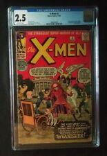 1963 X-Men #2 CGC 2.5 First Appearance The Vanisher