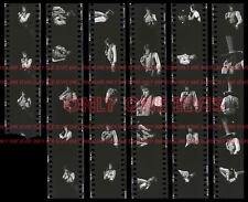 ELVIS PRESLEY in CONCERT Richfield 1975 8x10 Photo CONTACT SHEET ROCKIN on STAGE