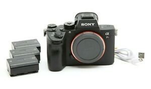 Excellent Sony Alpha a7R III Mirrorless Digital Camera with 3 Batteries #32361