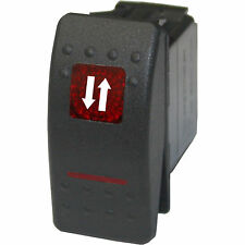 Rocker switch 508RM 12V ARROWS ONLY Momentary red Polaris