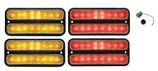 United Pacific LED Front & Rear Marker Light Set 1968-1972 Chevy Pickup Truck