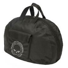 Harley-Davidson Willie G Skull Half Helmet Carry Bag Water-Resistant 99427-BLACK