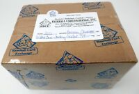 2001 BOWMAN CHROME BASEBALL FACTORY SEALED 6 BOX HOBBY CASE BBCE #A3300 PUJOLS