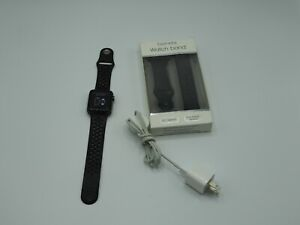 Apple Watch Series 3 GPS w/ 42MM / Gray Aluminum Case & Black Band !!!
