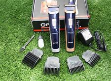 TOP GEMEI GM-6005 PROFESSIONAL HAIR CLIPPER TITANIUM HEAD TRIMMER RECHARGEABLE
