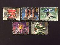 GB 1983 Christmas fine used set stamps