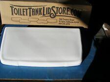 MPP Mansfield Toilet Tank Lid SOLID TOP, NO BUTTON  White Powerflush version