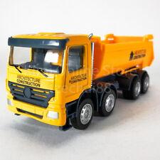 DSM 1:64 Die-Cast Dump Truck Orange Color Model Collection Christmas Toys Gift