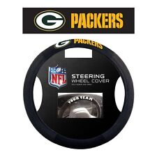 NFL POLY-SUEDE MESH STEERING WHEEL COVER GREEN BAY PACKERS