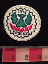 Vintage 1973 Arizona PHOENIX TRAP & SKEET CLUB Patch Gun Shooting 79YC