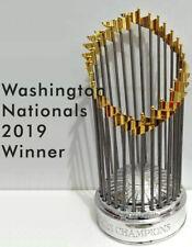 WORLD SERIES MLB Baseball Trophy WASHINGTON NATIONALS 2019 Winner Replica 30 CM