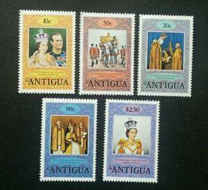 [SJ] Antigua 25th Anniversary Coronation 1978 Queen Elizabeth Royal (stamp) MNH