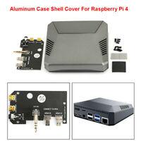 Multifunction Box Cover Case For Raspberry Pi 4 Model B Cooling Fan Heat Sinks