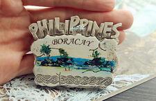 Honeymoon in Philippines Boracay, Travel Souvenir 3D Resin Fridge Magnet Craft