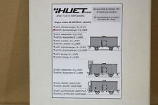 GERARD HUET TRAINS A670N HO SCALE BRASS SNCF SCHUTZENBERGER BIER WAGEN WAGON KIT