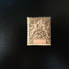 France Colony Anjouan N°8 Neuf with Original Gum Value