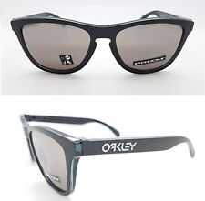 NEW Oakley Frogskins sunglasses Black Prizm Checkbox 9013-B8 AUTHENTIC 9013-B855
