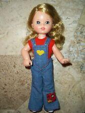 Vintage 1973 Kenner Garden Pals Skye Blonde Hair, Blue Eyes Original Clothing