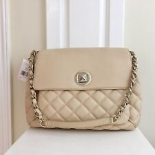 NEW KATE SPADE Corinne Gold Coast Cashew Quilted Leather Shoulder Handbag Purse