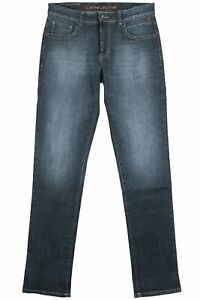 Camel Active Woodstock Stretchjeans Jeans Leinen Blau Herren Regular Fit W34 L34