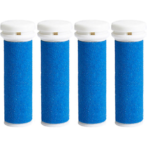 Scholl Express Pedi Compatible Refill Extra Coarse Replacement Rollers (4 Pack)