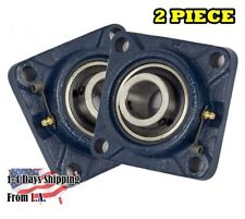 "UCF205-16 Pillow Block Flange Bearing 1"" Bore 4 Bolt Solid Base (2PCS)"
