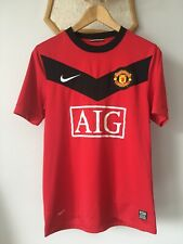MANCHESTER UNITED 2009 2010 HOME FOOTBALL SOCCER SHIRT JERSEY CAMISETA NIKE MEN