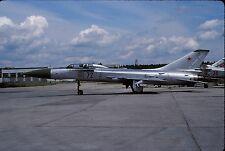 Original colour slide Su-15UT Flagon '72' of Russian Air Force