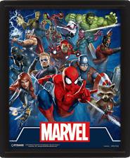 Marvel - 3D Framed Picture