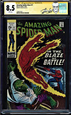 AMAZING SPIDER-MAN #77 CGC 8.5 WHITE SS STAN LEE SIGNED CGC #1508473025