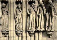 Kirchen Motiv-Ansichtskarte MAGDEBURG Dom Törichte Jungfrauen ad. Paradiespforte