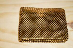 Rare Vintage Oroton West Germany Gold Mesh Wallet