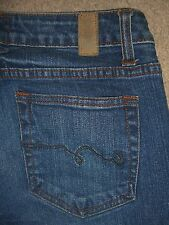AMERICAN RAG Skinny Stretch Dark Denim Jeans Womens Size 5 S x 28