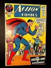 ACTION 410 (DC 3/72 9.2 non-CGC) GIANT 25c SILVER-AGE SUPERMAN! CURT SWAN ART!
